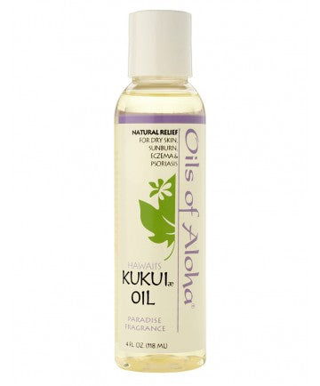 Oils of Aloha Kukui Oil Tropic Breeze Fragrance 4 oz