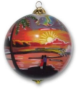Classic Sunset Ornament - The Hawaii Store