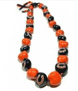 NFL Chicago Bears Kukui Nut Lei - The Hawaii Store