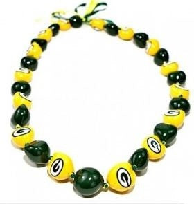 NFL Indianapolis Colts Go Nuts Kukui Nut Lei Necklace