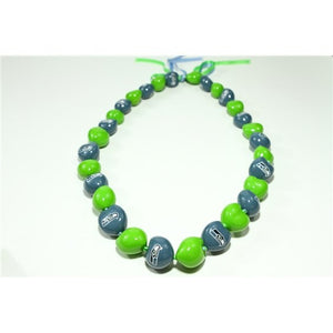 NFL Seattle Seahawks Kukui Nut Lei