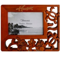 Hibiscus & Honu (turtle) Picture Frame - The Hawaii Store