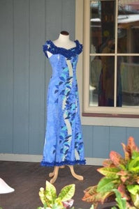 Hawaiian Double Ruffle Mu'umu'u - The Hawaii Store