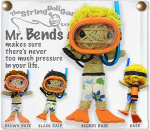 Kamibashi String Doll Mr. Bends - The Hawaii Store