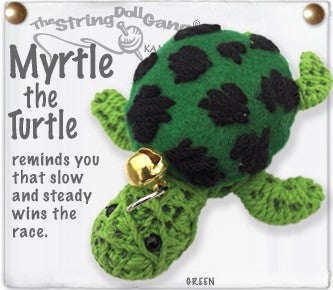 Kamibashi String Doll Myrtle the Turtle