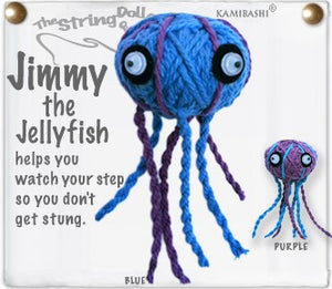 Kamibashi String Doll Jimmy the Jellyfish - The Hawaii Store