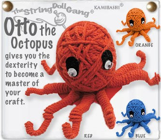 Kamibashi String Doll Otto, the Octopus