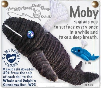 Kamibashi String Doll Moby, the Whale - The Hawaii Store