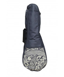 Soprano Ukulele Gig Bag - Tribal Black & White - The Hawaii Store