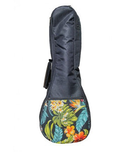 Tenor Ukulele Gig Bag - Floral - The Hawaii Store