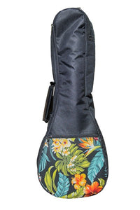 Soprano Ukulele Gig Bag - Floral - The Hawaii Store