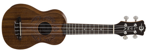 Luna Soprano Ukulele - Honu Tribal Turtle Pack - The Hawaii Store