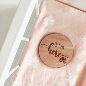 Baby Announcement Plaque