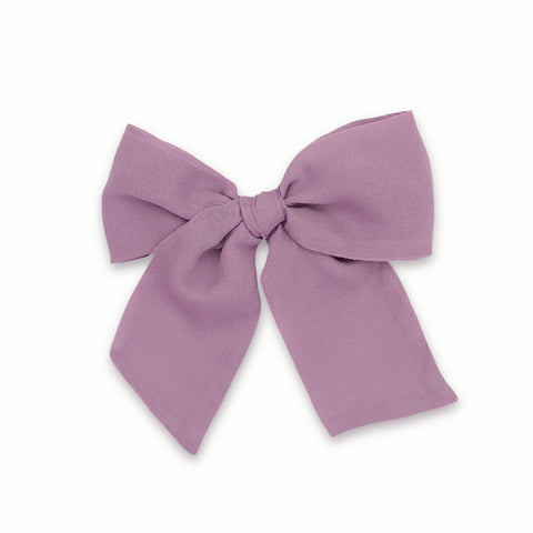Grape Georgie Bow