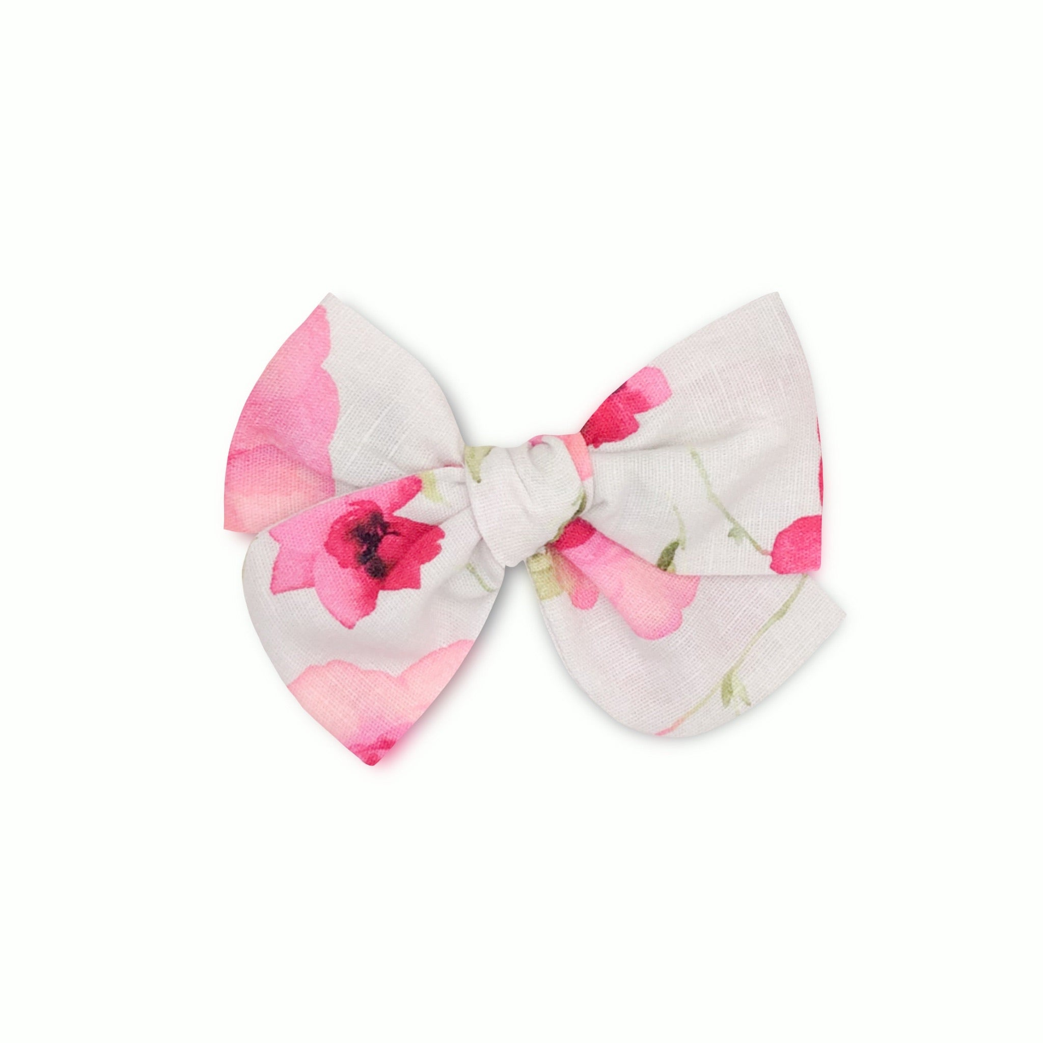 Little Lady Linen Pinwheel Bow