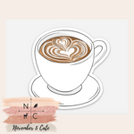 Load image into Gallery viewer, Latte Art Sticker