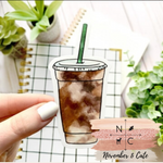 Load image into Gallery viewer, Iced Coffee Sticker