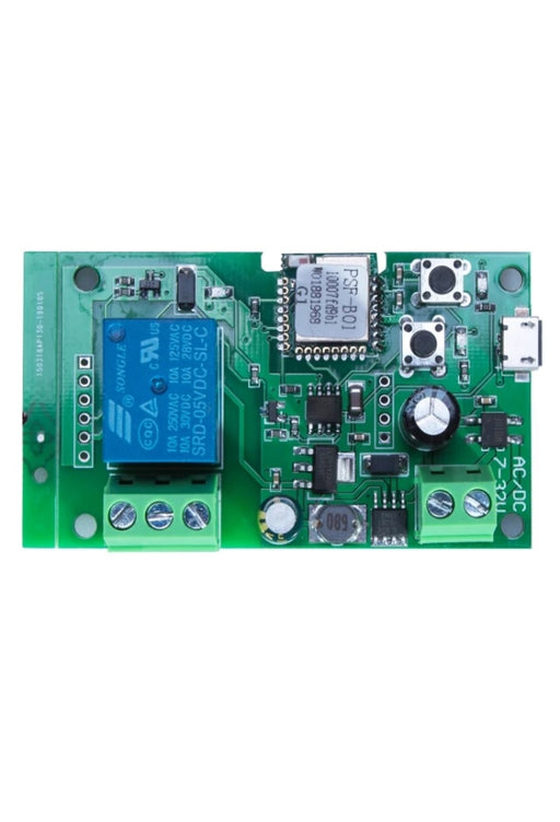 EACHEN WiFi Inching Relay Momentary Switch Module ST-DC1 (Tuya SmartLife APP)