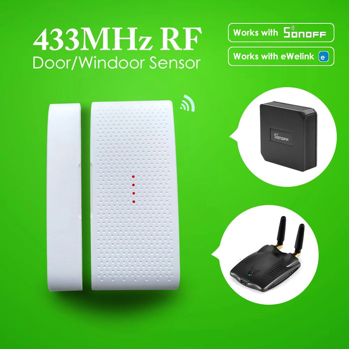 EACHEN Door Sensor Window Sensor 433MHz RF-DW1