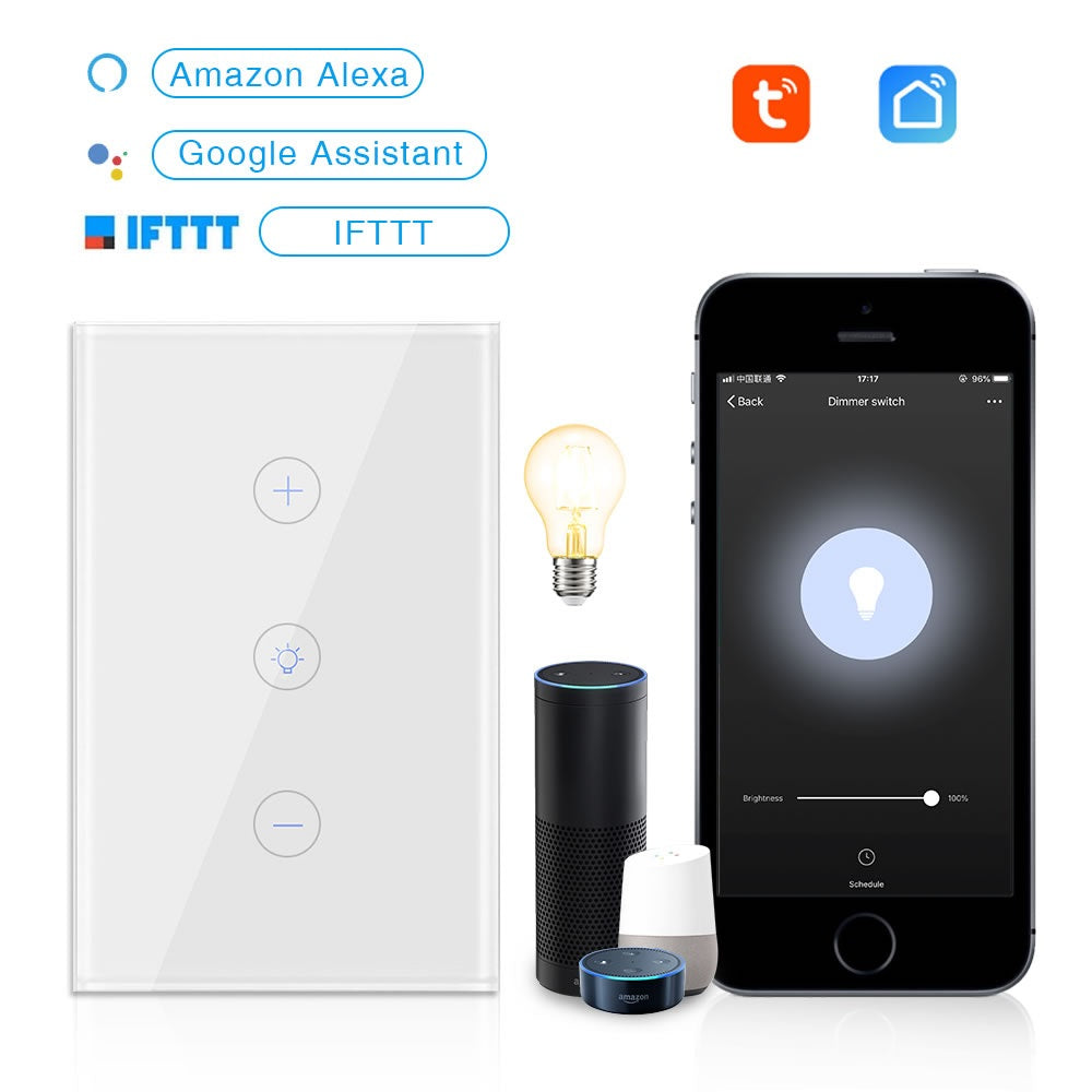 EACHEN Dimmer Wall Switch-US(Tuya Smartlife APP)