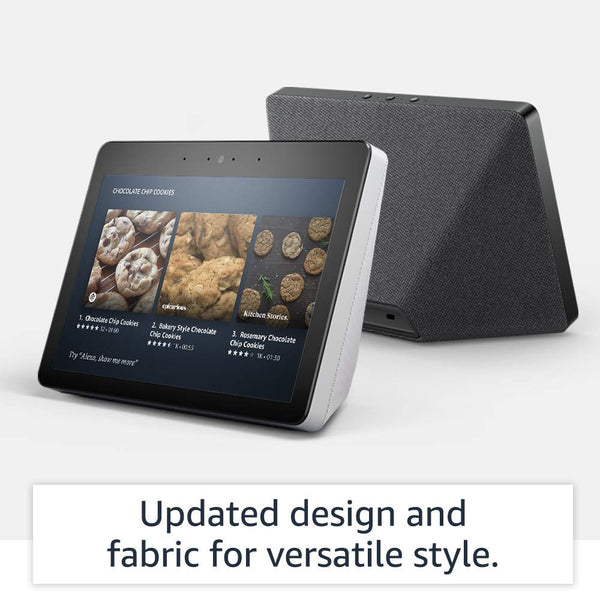 "All-new Echo Show (2nd Gen) – Premium sound and a vibrant 10.1"" HD screen - Charcoal"