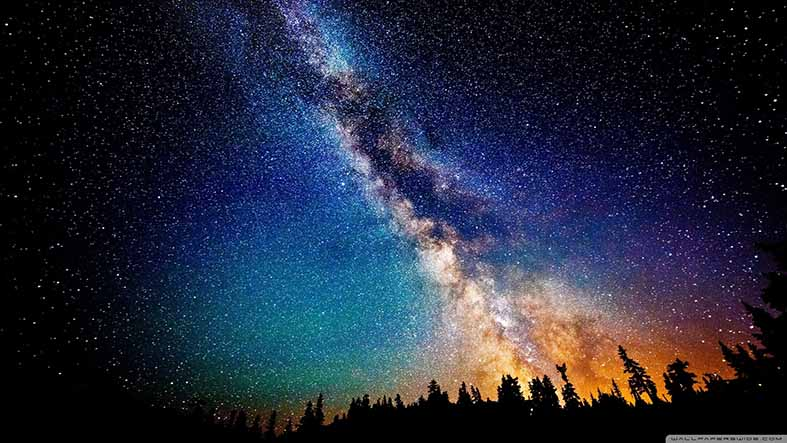 Canvas or Paper Print of  Milky Way Galaxy No.2