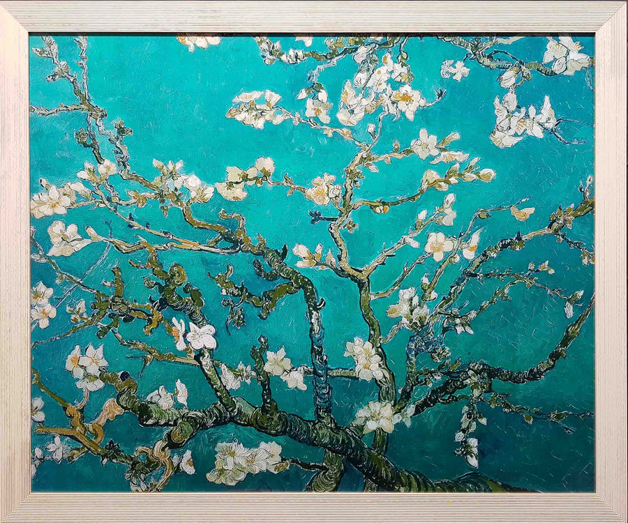Framed Print of Almond Blossom by Van Gogh