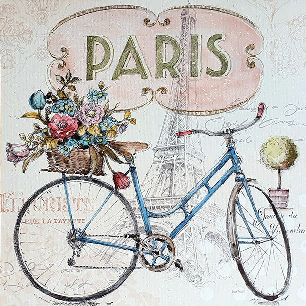 Canvas or Paper Print of Paris