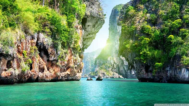 Canvas or Paper Print of  Thailand Nature Scenery