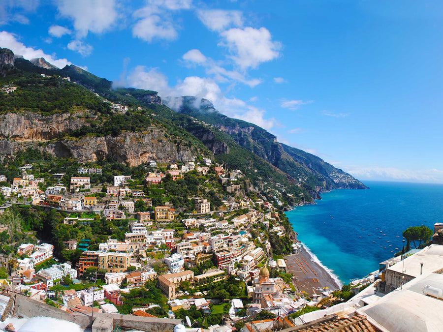 Canvas or Paper Print of Amalfi Coast