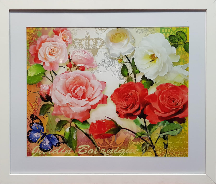 Framed Print of May Rose