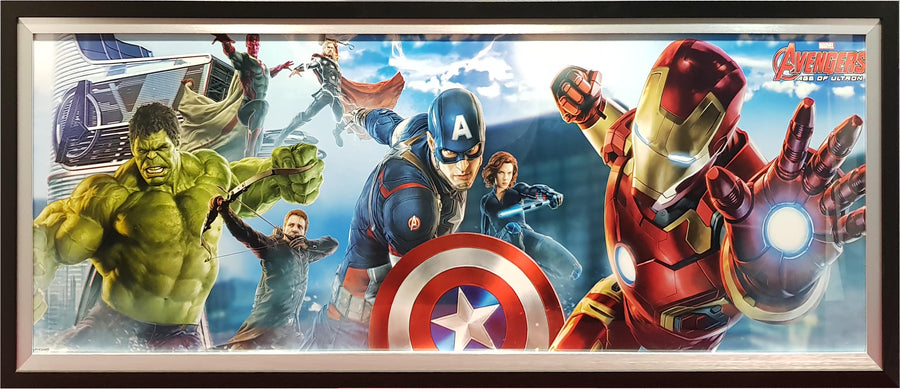 Framed Print of Avengers