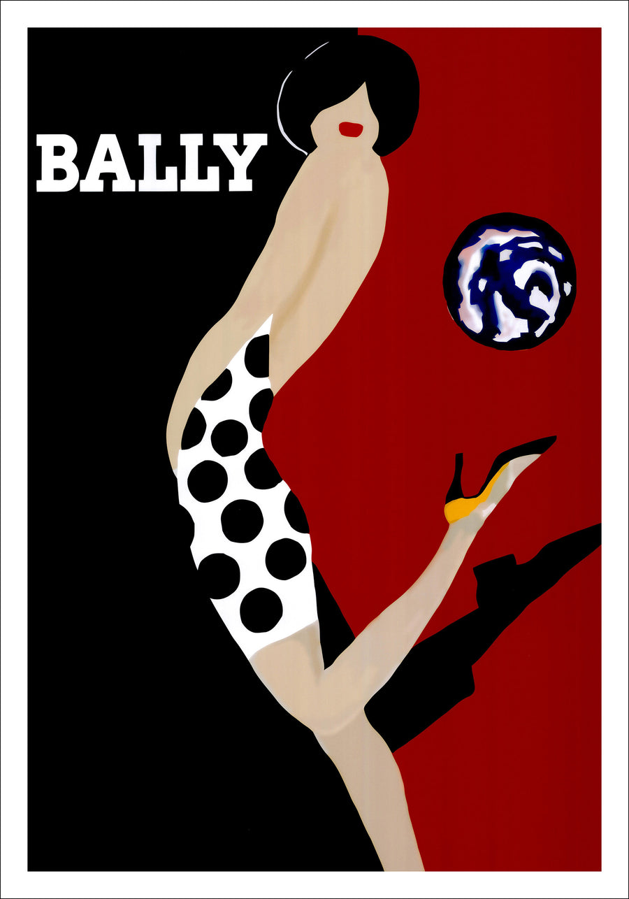 Canvas or Paper Print of Bally No.1