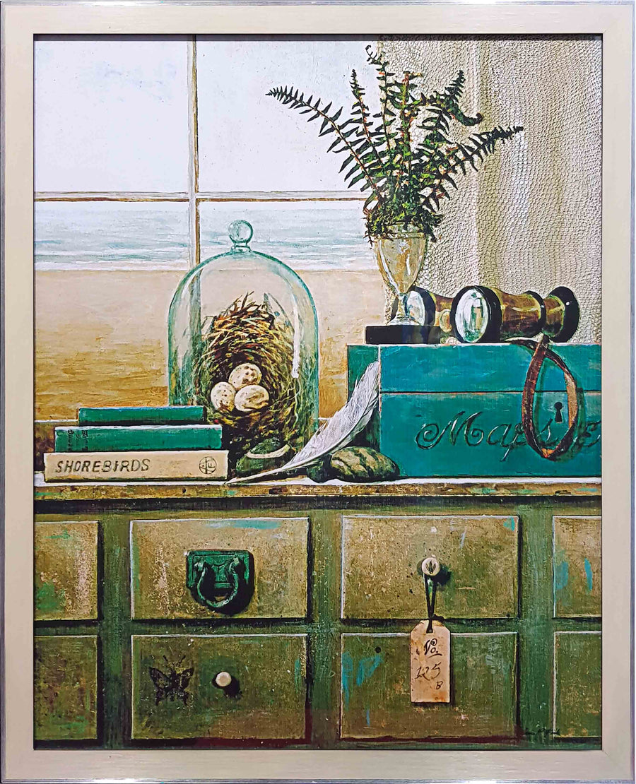 Framed Print of Drawers to Beach No.2
