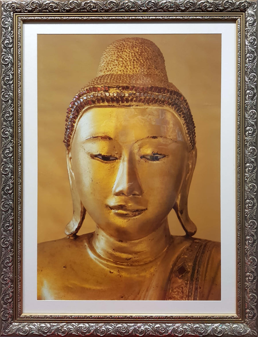 Framed Print of Golden Buddha