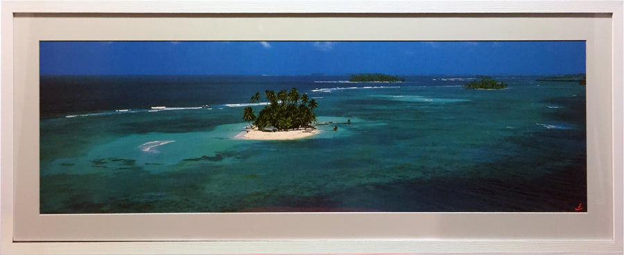Framed Print of Island