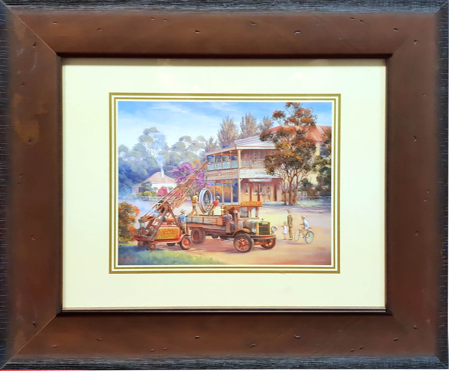Framed Print of TNT by John Bradley