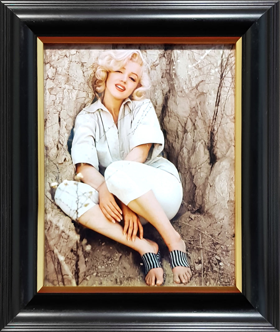 Framed Print of Marilyn Monroe No.1