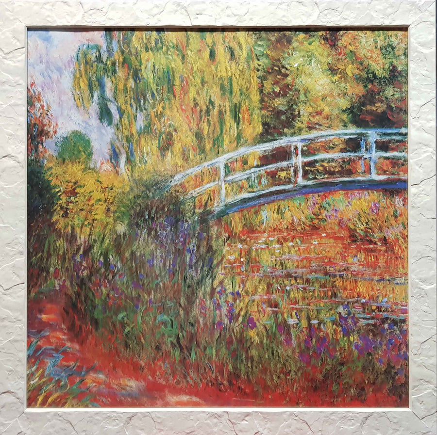Framed Print of Garden by Monet
