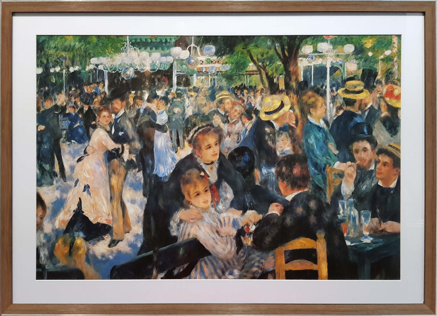 Framed Print of Renoir Cafe