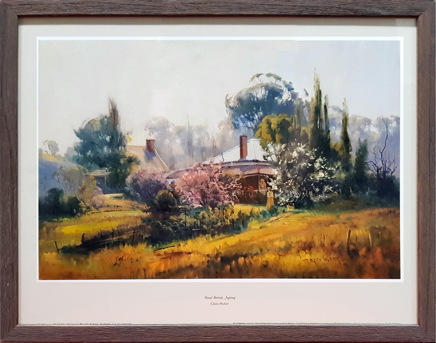 Framed Print of Rural Retreat