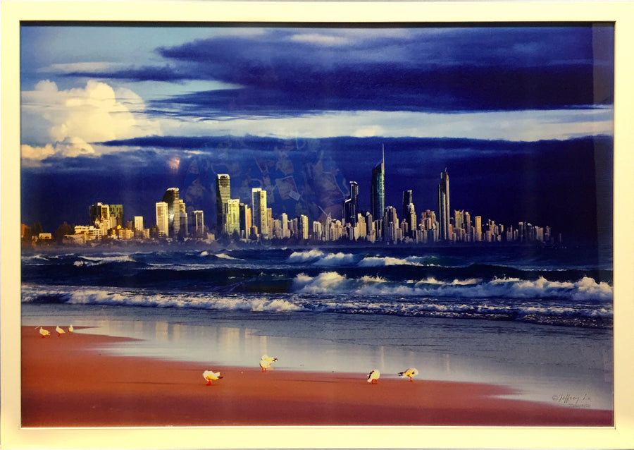 Framed Print of Surfers Paradise No.2
