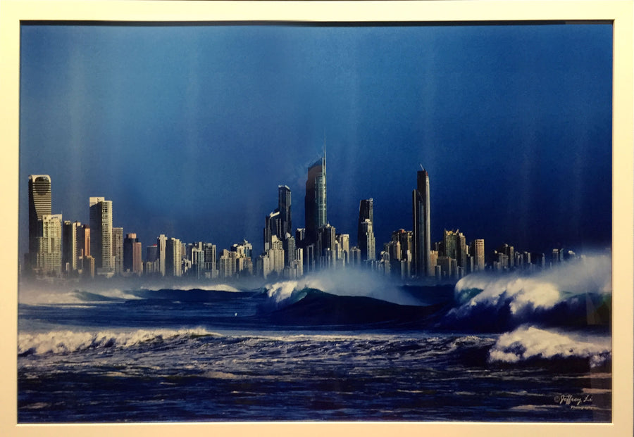 Framed Print of Surfers Paradise No.1