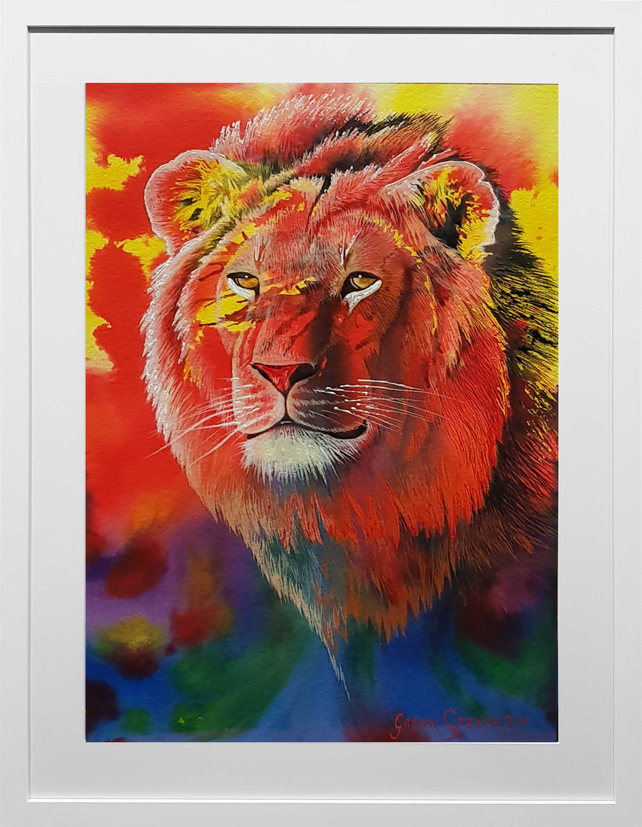 Painting of Lion (Original)