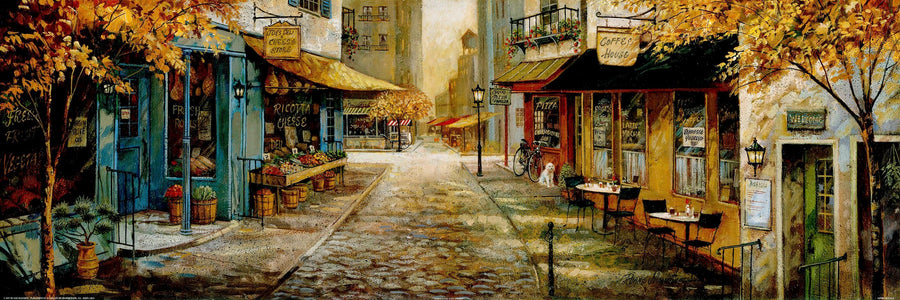 Canvas or Paper Print of Street Scene No.1