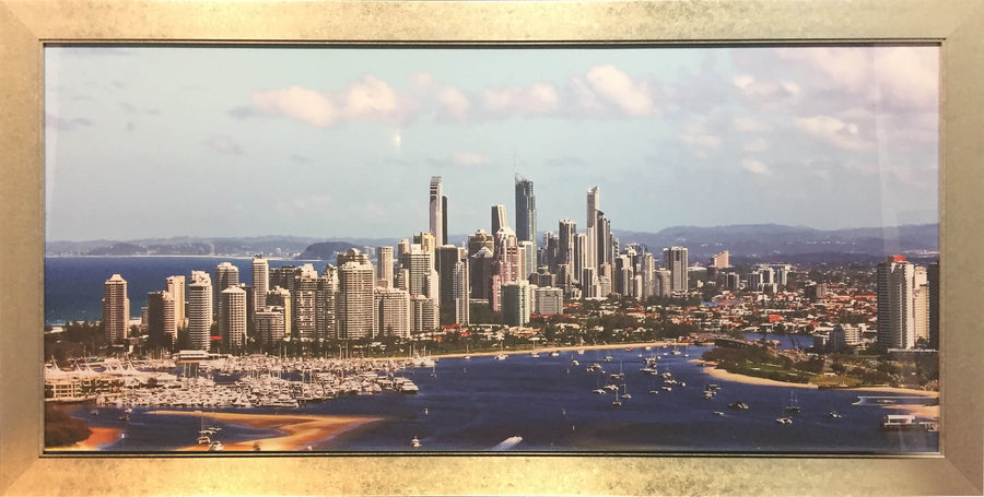 Framed Print of Surfers Paradise No.3