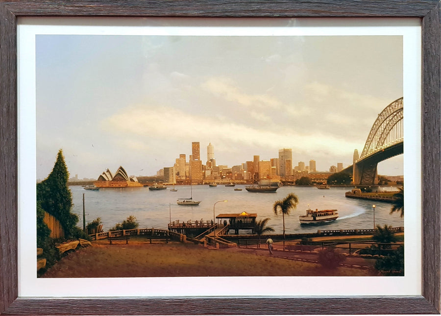 Framed Print of Sydney Harbour Bridge