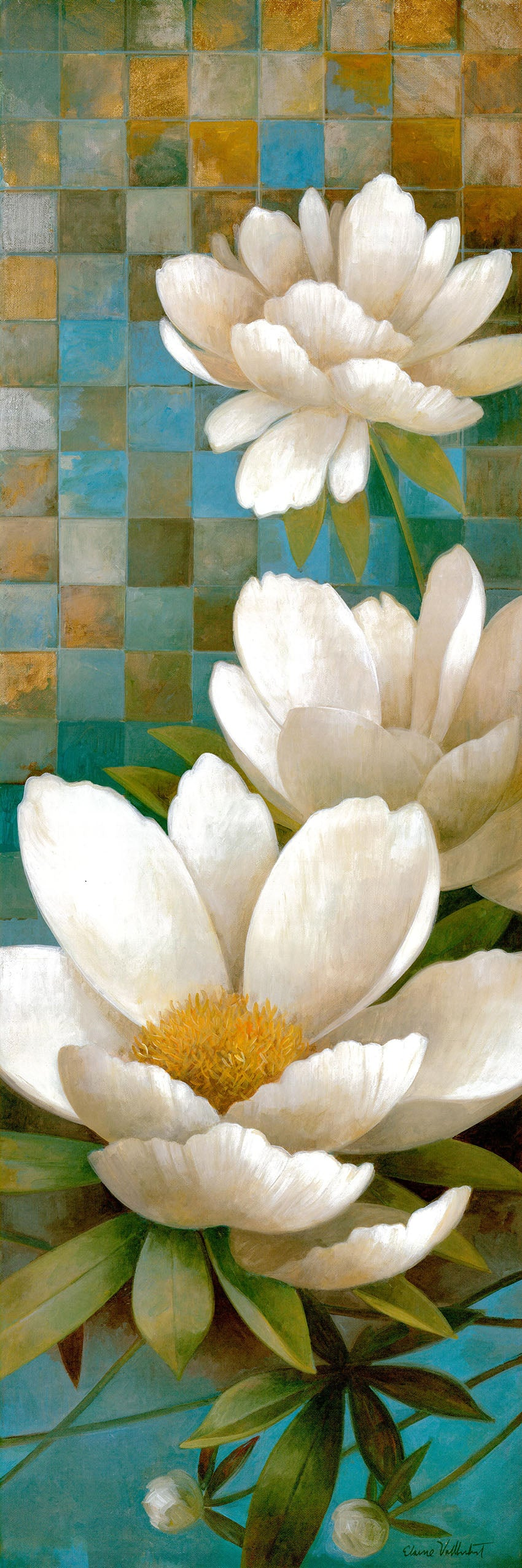 Canvas or Paper Print of White Daisy No.2