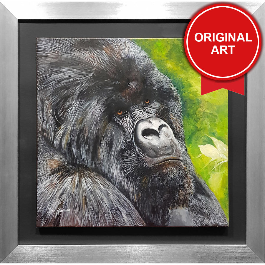 Painting of Gorilla by Danny Bradley (Original)