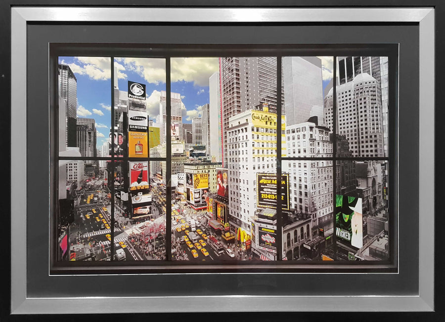 Framed Print of New York City Window